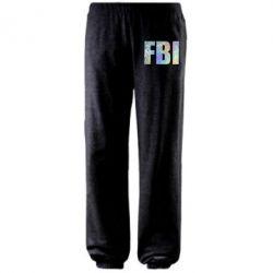 Штани FBI голограма