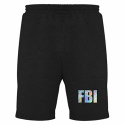 Мужские шорты FBI голограмма