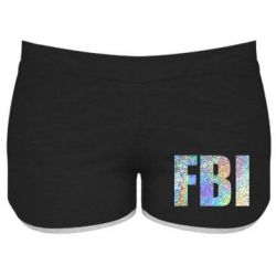 Жіночі шорти FBI голограма