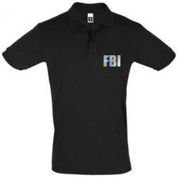 Футболка Поло FBI голограмма