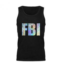 Мужская майка FBI голограмма