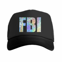 Кепка-тракер FBI голограмма