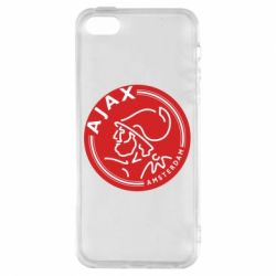 Купить Аякс (Ajax), Чехол для iPhone5/5S/SE FC Ajax Amsterdam, FatLine