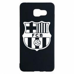 Чехол для Samsung A5 2016 FC Barcelona