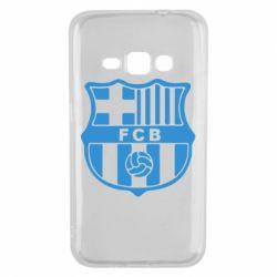 Чехол для Samsung J1 2016 FC Barcelona