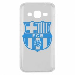 Чехол для Samsung J2 2015 FC Barcelona