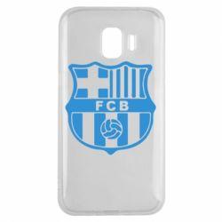 Чехол для Samsung J2 2018 FC Barcelona