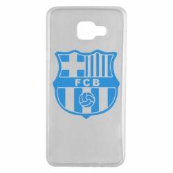 Чехол для Samsung A7 2016 FC Barcelona