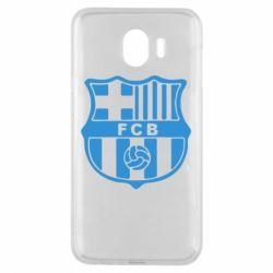 Чехол для Samsung J4 FC Barcelona