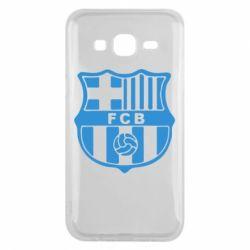 Чехол для Samsung J5 2015 FC Barcelona