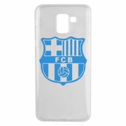 Чехол для Samsung J6 FC Barcelona