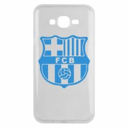 Чехол для Samsung J7 2015 FC Barcelona