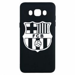 Чехол для Samsung J7 2016 FC Barcelona