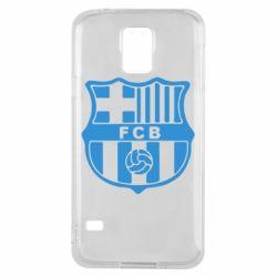 Чехол для Samsung S5 FC Barcelona