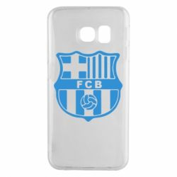 Чехол для Samsung S6 EDGE FC Barcelona