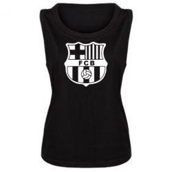 Женская майка FC Barcelona - FatLine