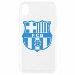 Чехол для iPhone XR FC Barcelona