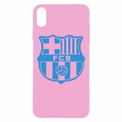 Чехол для iPhone Xs Max FC Barcelona