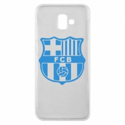 Чехол для Samsung J6 Plus 2018 FC Barcelona
