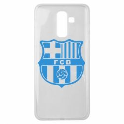 Чехол для Samsung J8 2018 FC Barcelona