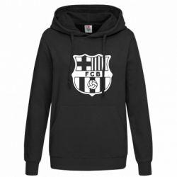 Женская толстовка FC Barcelona - FatLine