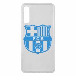 Чехол для Samsung A7 2018 FC Barcelona