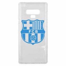 Чехол для Samsung Note 9 FC Barcelona