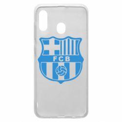 Чехол для Samsung A20 FC Barcelona