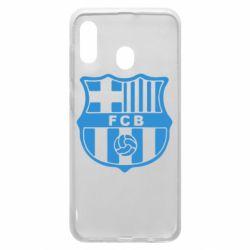 Чехол для Samsung A30 FC Barcelona