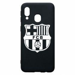 Чехол для Samsung A40 FC Barcelona