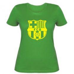 Женская футболка FC Barcelona