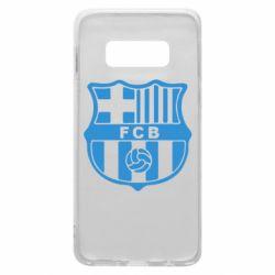 Чехол для Samsung S10e FC Barcelona