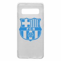 Чехол для Samsung S10 FC Barcelona