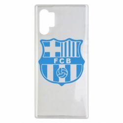 Чехол для Samsung Note 10 Plus FC Barcelona