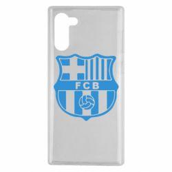 Чехол для Samsung Note 10 FC Barcelona
