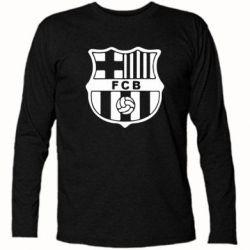 Футболка с длинным рукавом FC Barcelona - FatLine