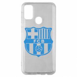 Чехол для Samsung M30s FC Barcelona