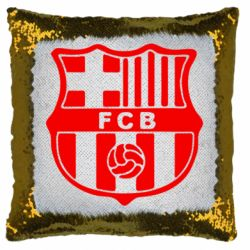 Подушка-хамелеон FC Barcelona