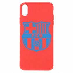 Чехол для iPhone X/Xs FC Barcelona