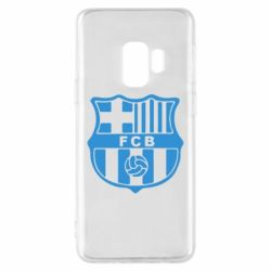 Чехол для Samsung S9 FC Barcelona