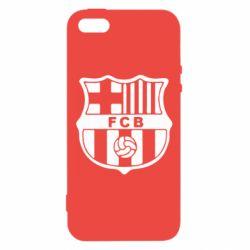 Чехол для iPhone5/5S/SE FC Barcelona
