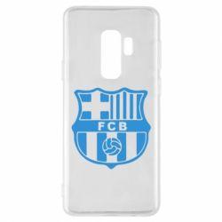 Чехол для Samsung S9+ FC Barcelona