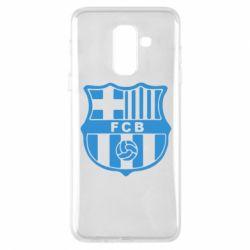Чехол для Samsung A6+ 2018 FC Barcelona