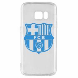 Чехол для Samsung S7 FC Barcelona