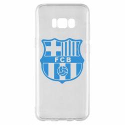 Чехол для Samsung S8+ FC Barcelona