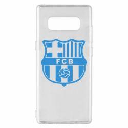 Чехол для Samsung Note 8 FC Barcelona