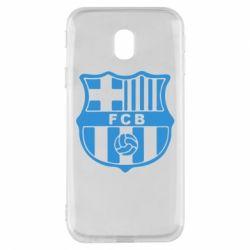 Чехол для Samsung J3 2017 FC Barcelona