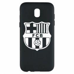 Чехол для Samsung J5 2017 FC Barcelona