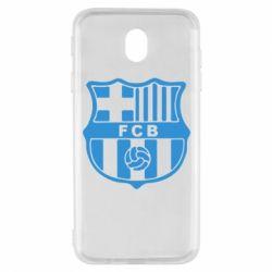 Чехол для Samsung J7 2017 FC Barcelona