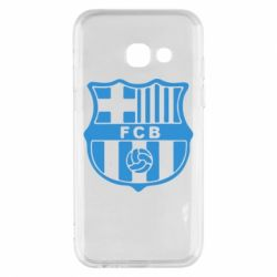 Чехол для Samsung A3 2017 FC Barcelona